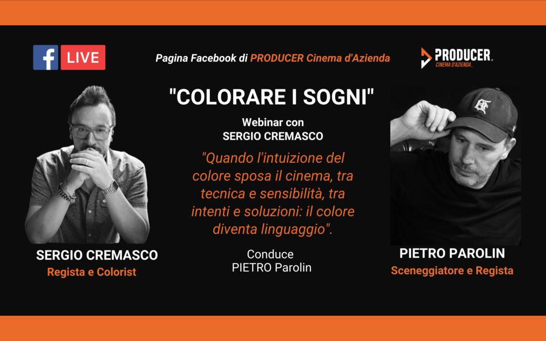 Webinar Cinema d'Azienda: Colorare i sogni – Pietro Parolin e Sergio Cremasco