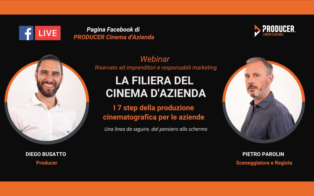 Webinar PRODUCER: La filiera del Cinema d'Azienda